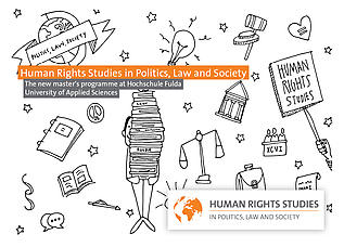 "Masterstudiengang ""Human Rights Studies in Politics, Law and Society"""